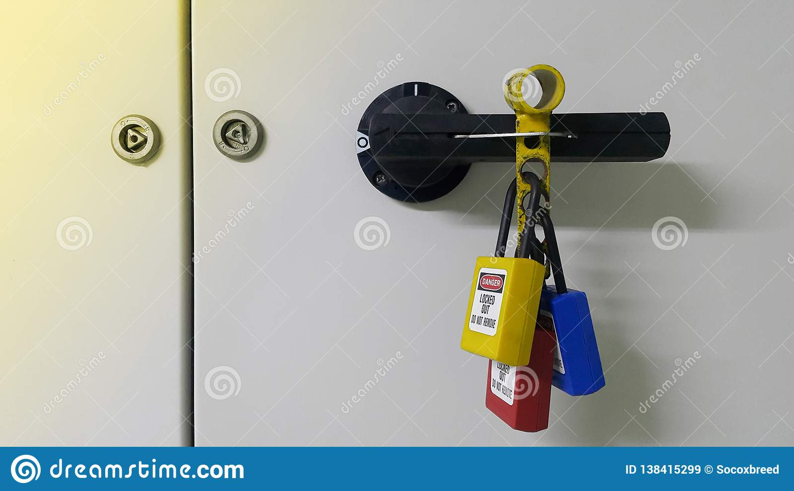Lockout devices and safety first point
