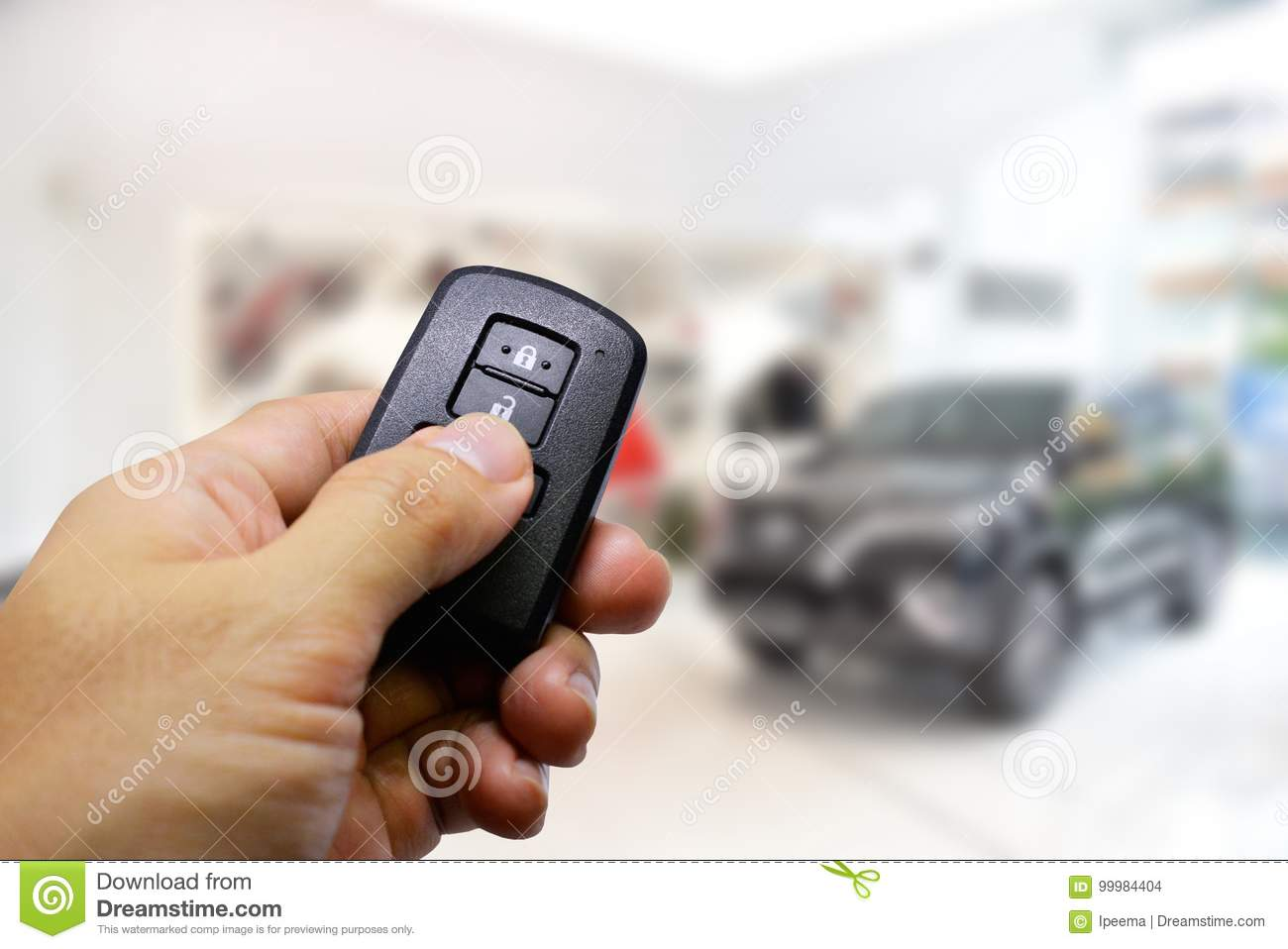 Car Remote Unlocker >> Lock And Unlock Car With Remote Keys Stock Photo Image Of