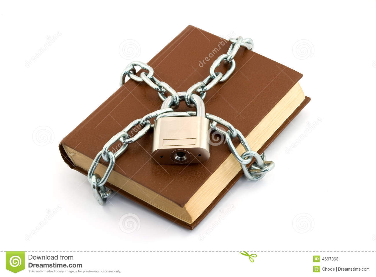 Locked Book Stock Photos - Image: 4697363