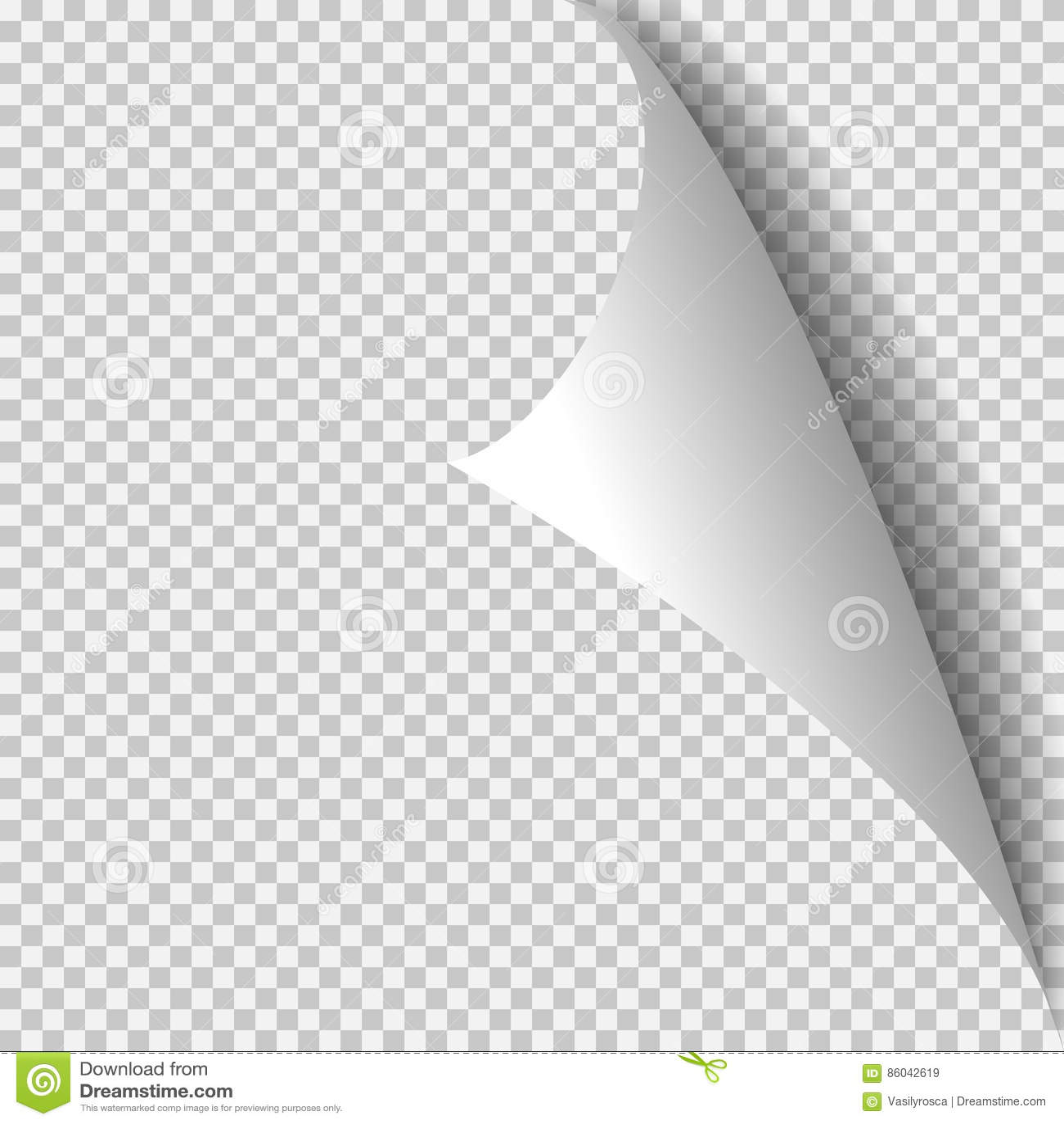 Lockeneckpapierschablone Transparentes Gitter Leere Hintergrundseite