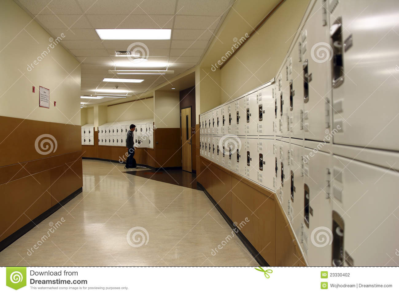 Locker Hallway Editorial Photography Image Of Black