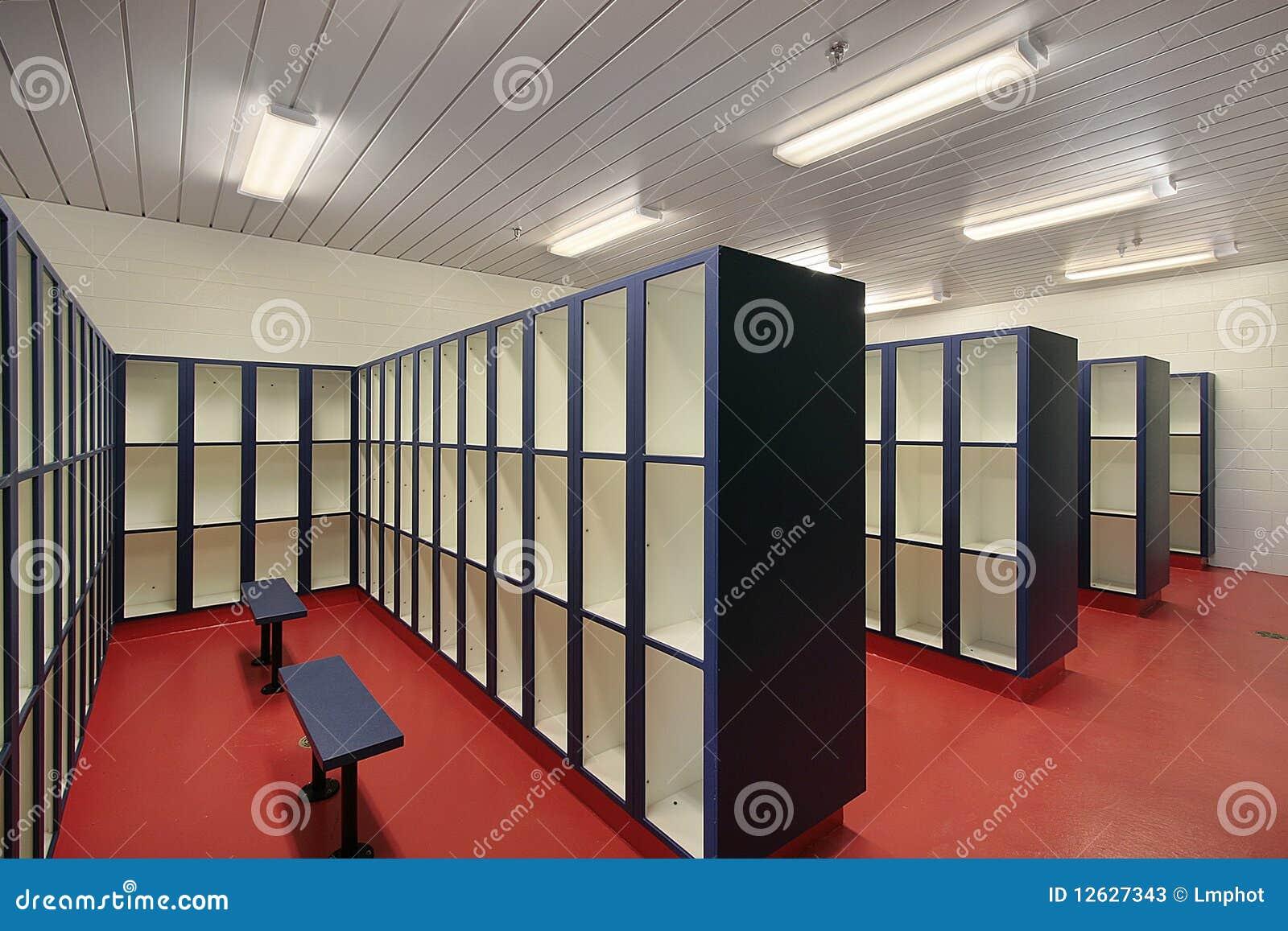 Locker Room In Swimming Area Stock Photos Image 12627343