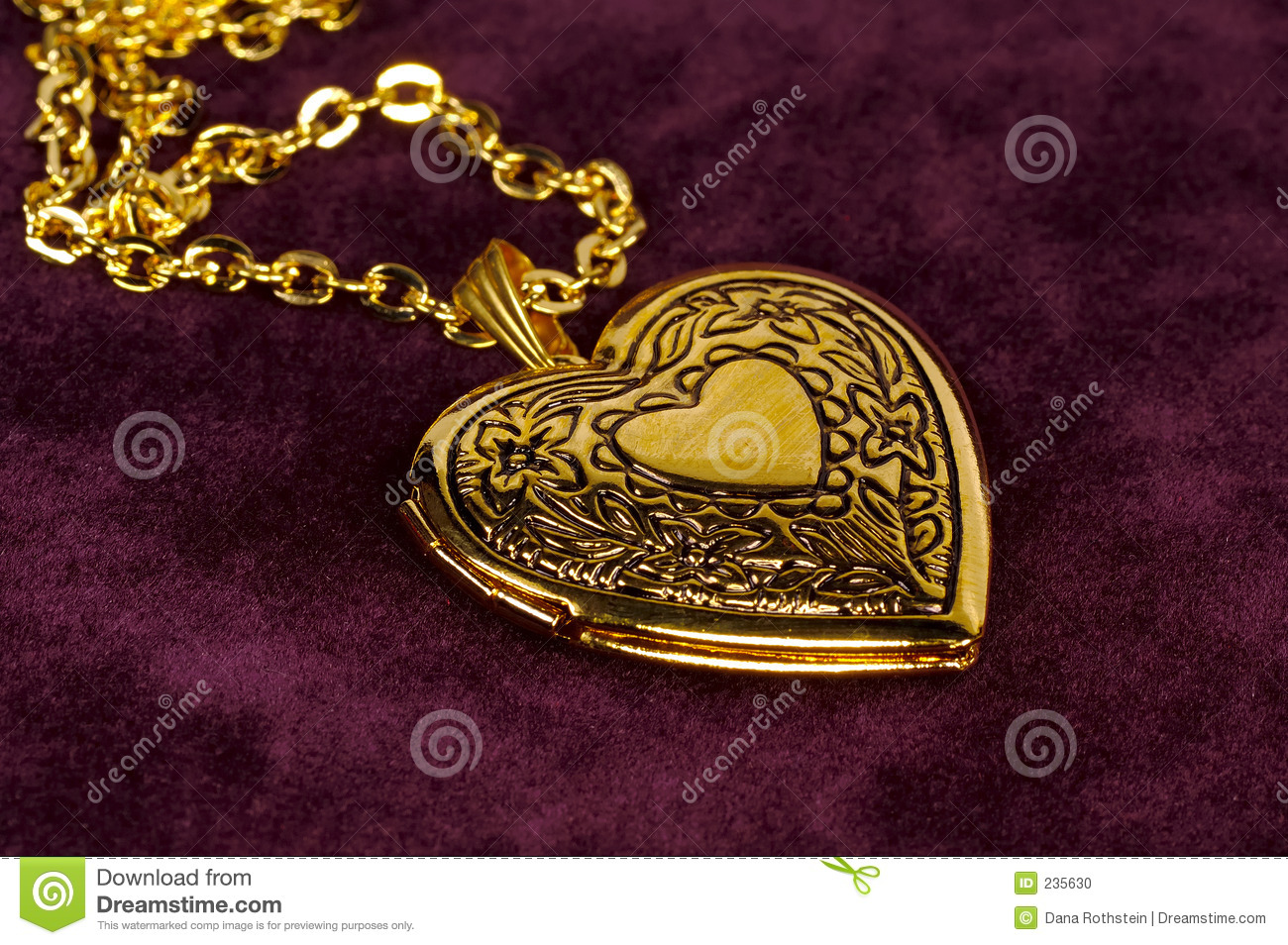 Locket del oro
