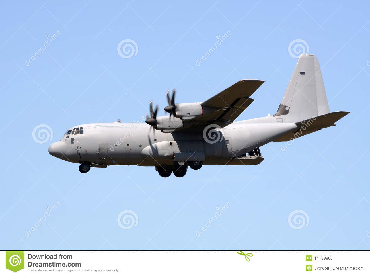 C 130 Military Transport Aircraft Lockheed C-130 Hercule...
