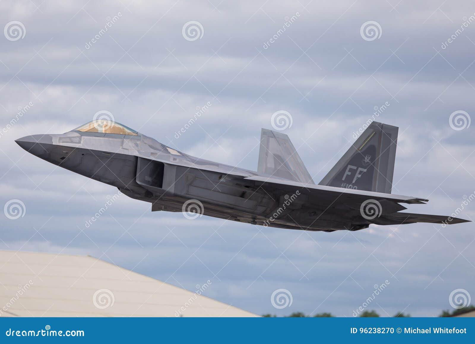 Lockheed Martin F-22 Raptor Editorial Image - Image of
