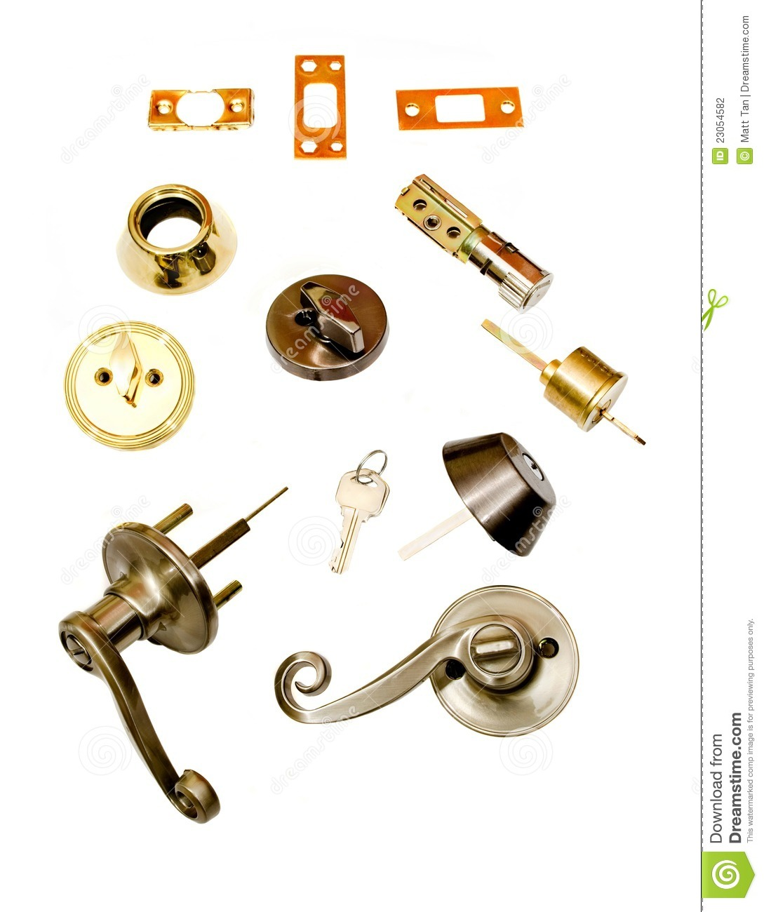Locksmith Deadbolt Door Locks Installation Parts Stock