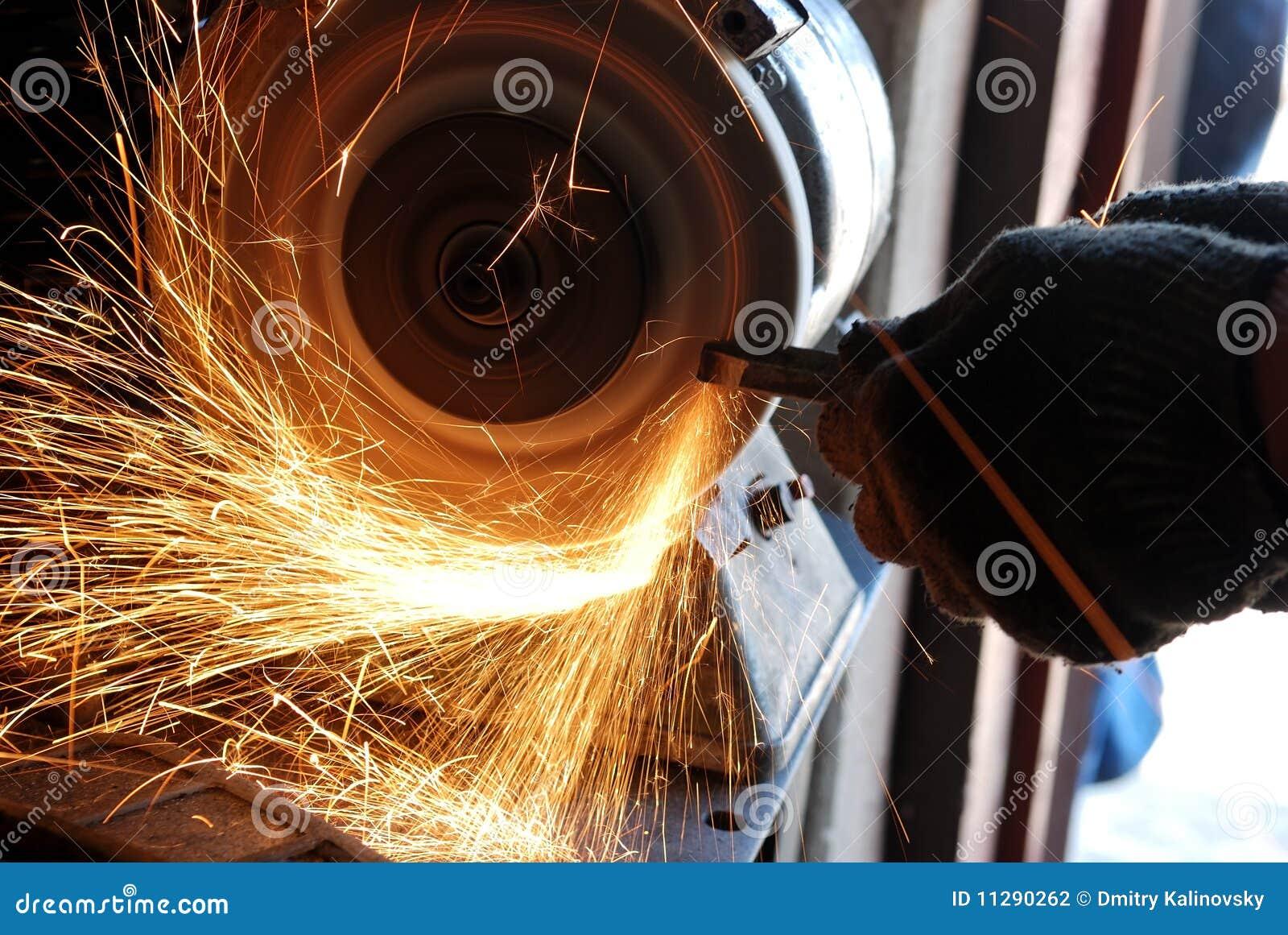 Locksmith grinding