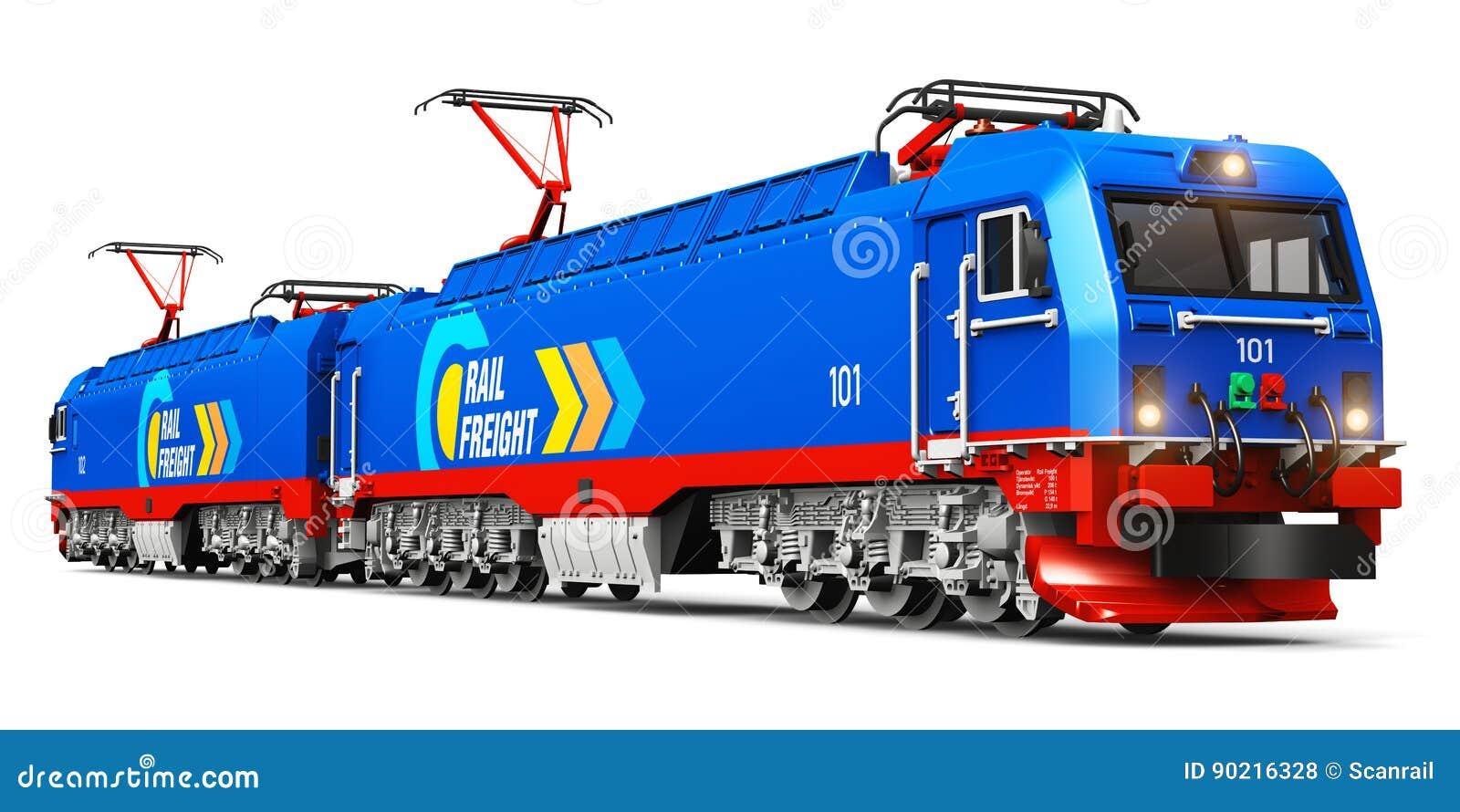 Locomotive électrique de fret lourd moderne