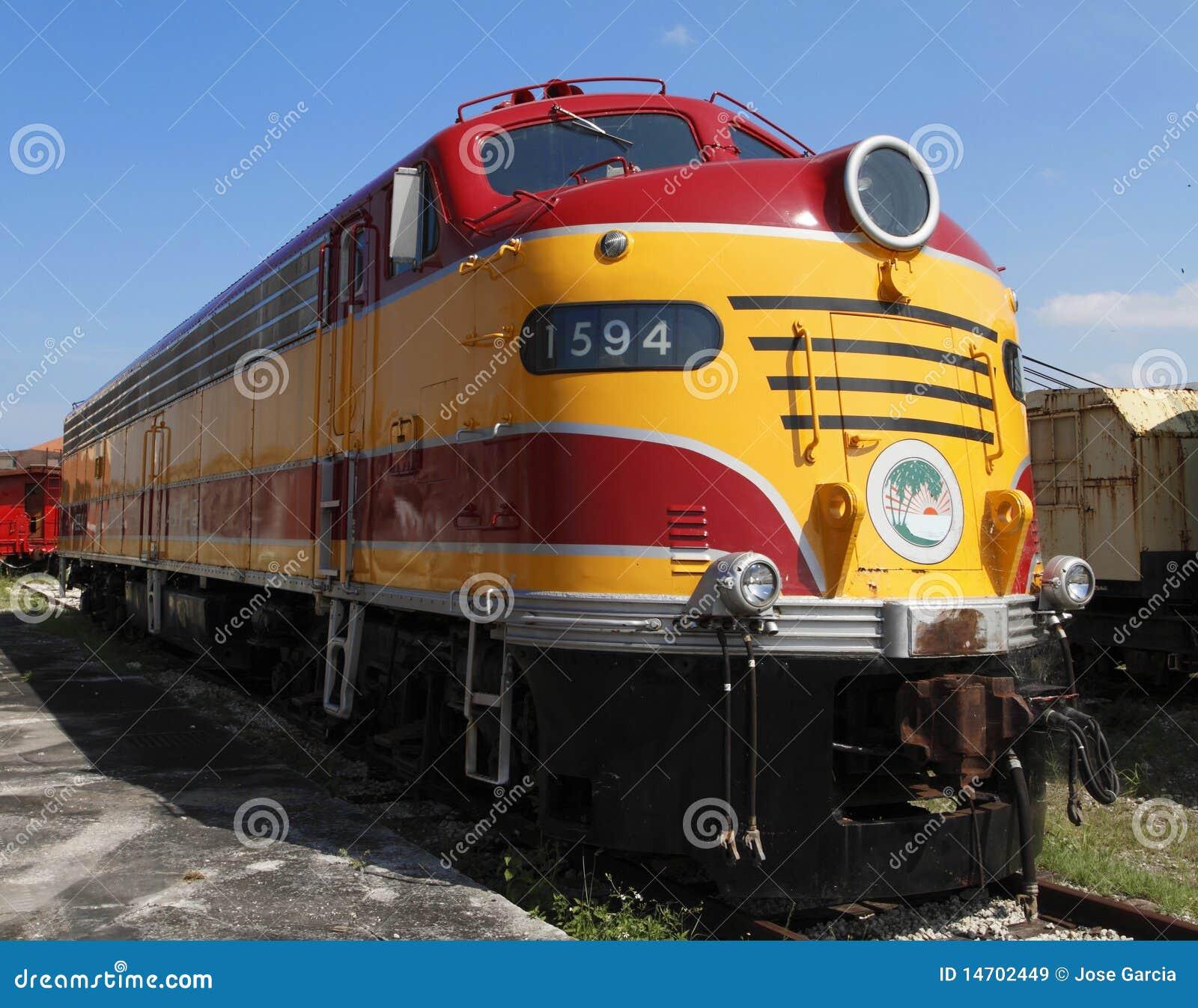 Locomotive diesel électrique des années 40