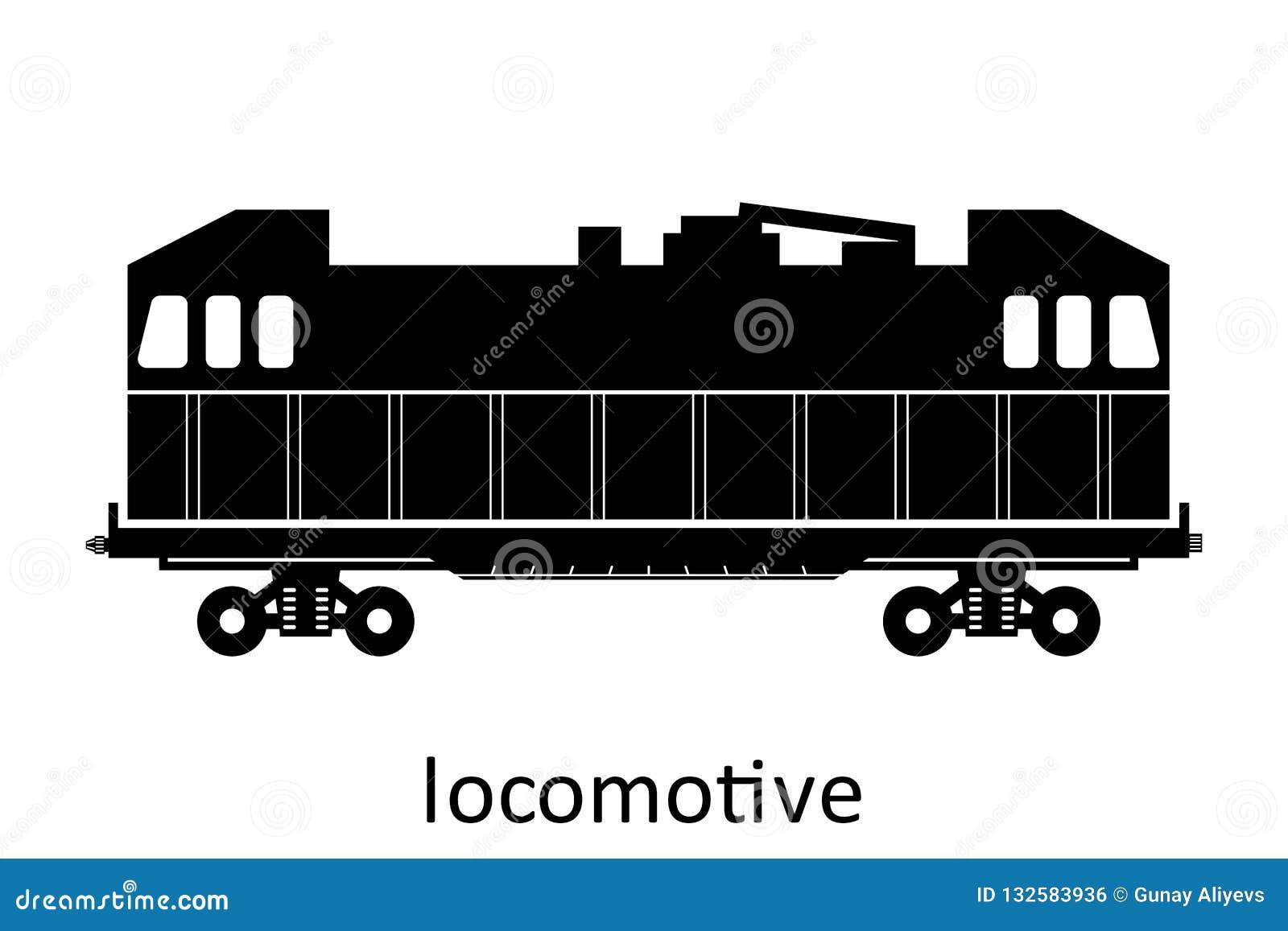 Locomotive With Name  Cargo Freight Forwarding Transport