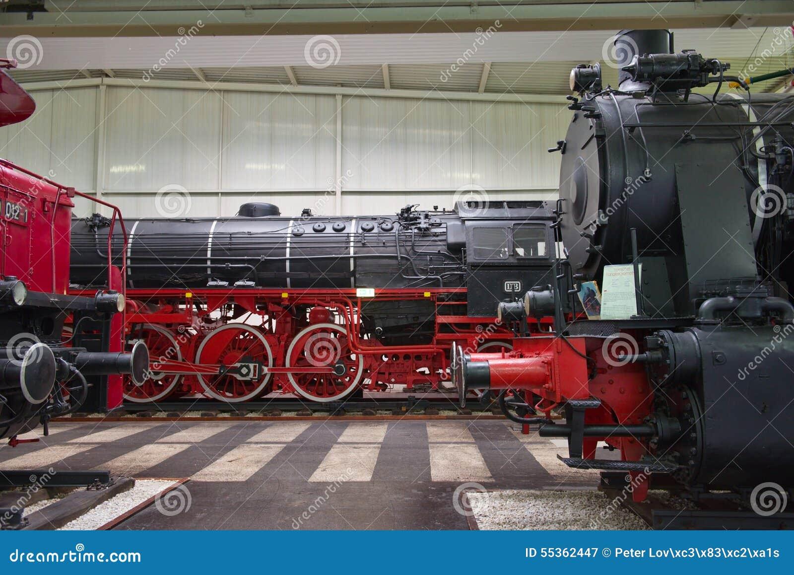 Locomotive nel museo tecnico di Speyer