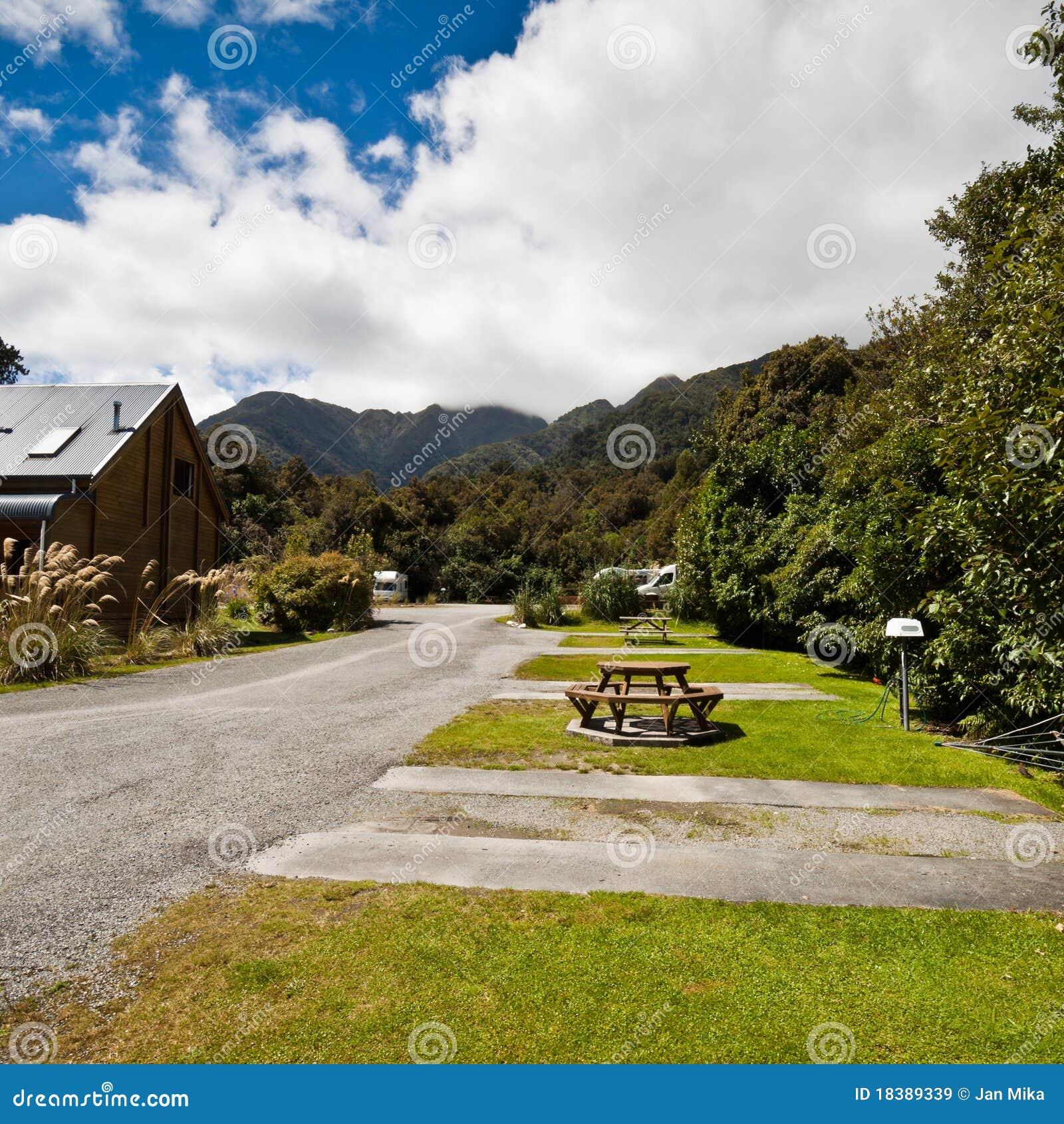 Lodge Новая Зеландия ледника лисицы