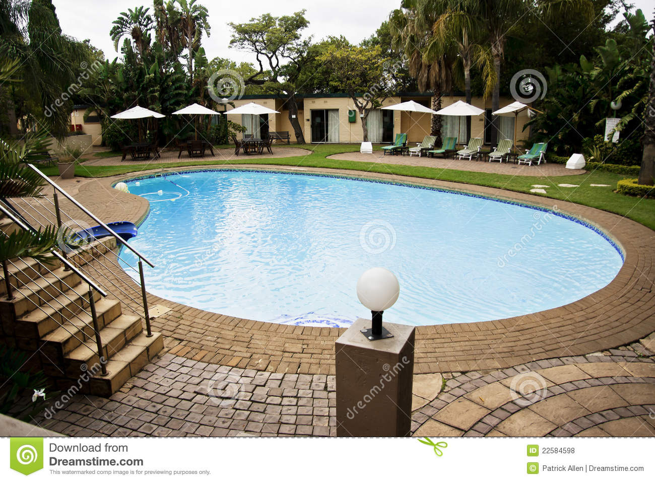 Lodge Swimming Pool Royalty Free Stock Photos Image 22584598