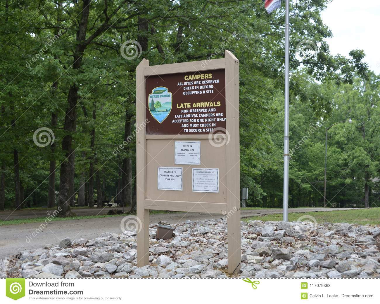 Natchez Trace Park Lodging Editorial Stock Photo Image Of