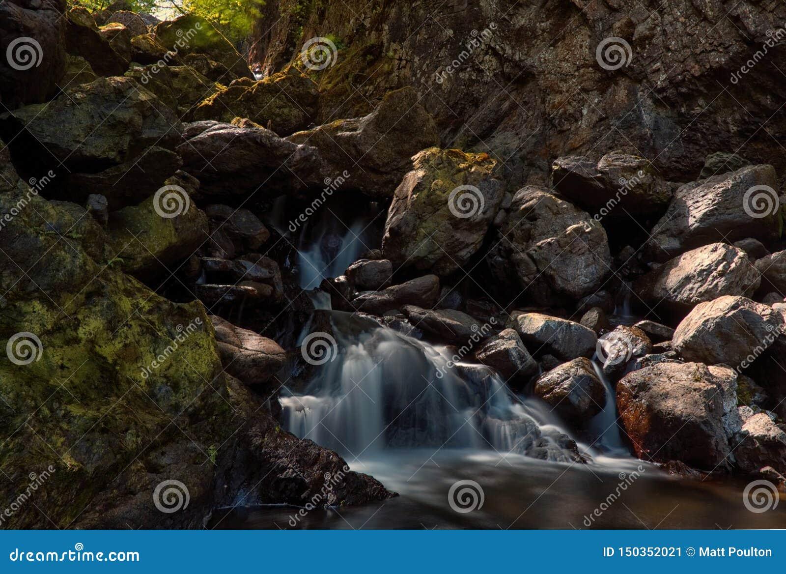 Lodore Falls, Lake District