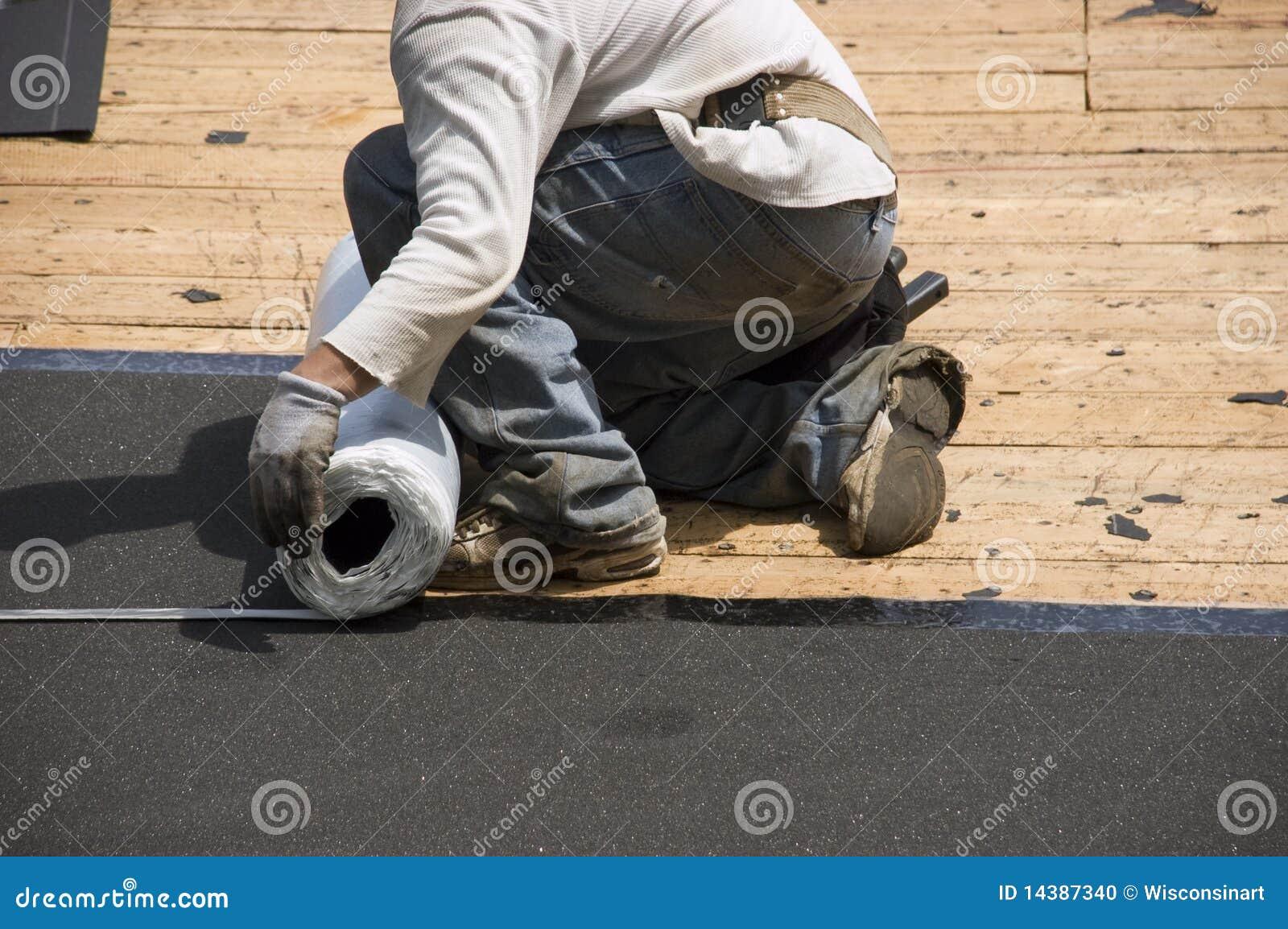 Lodowa papieru dachu dacharza osłony gontów smoła