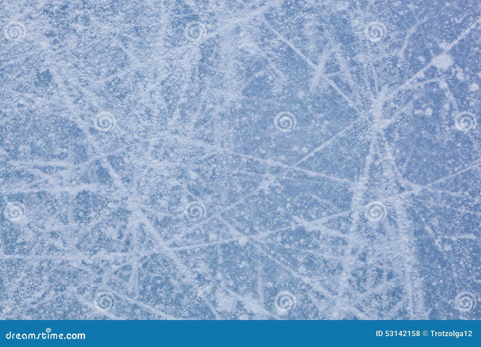 Lodowa tekstura jazda na łyżwach lodowisko