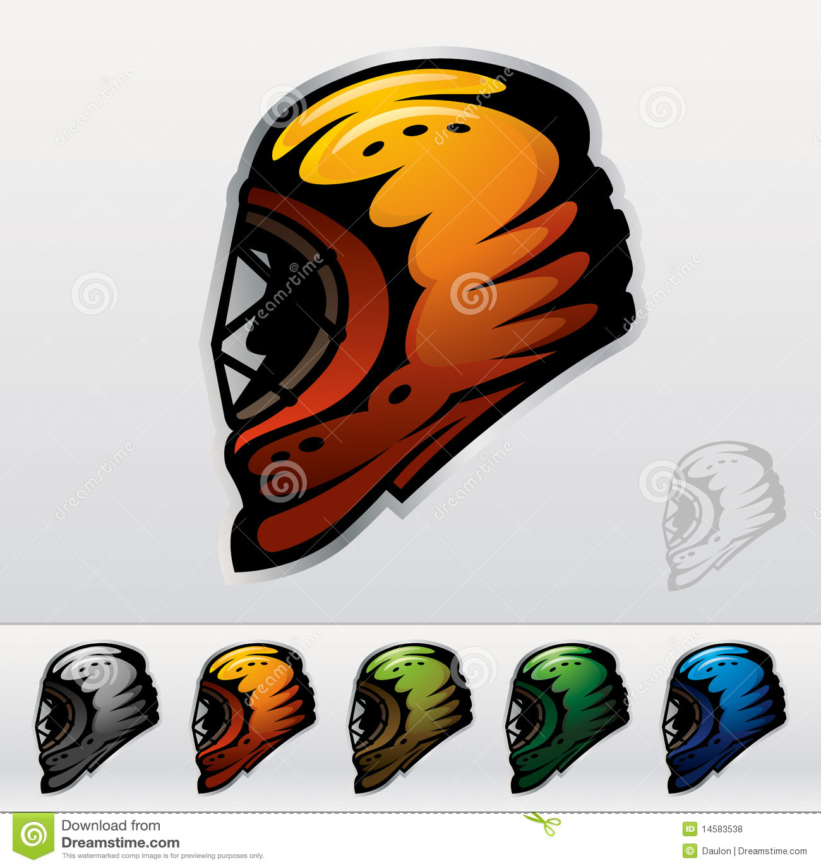 Lodowe hokej maski
