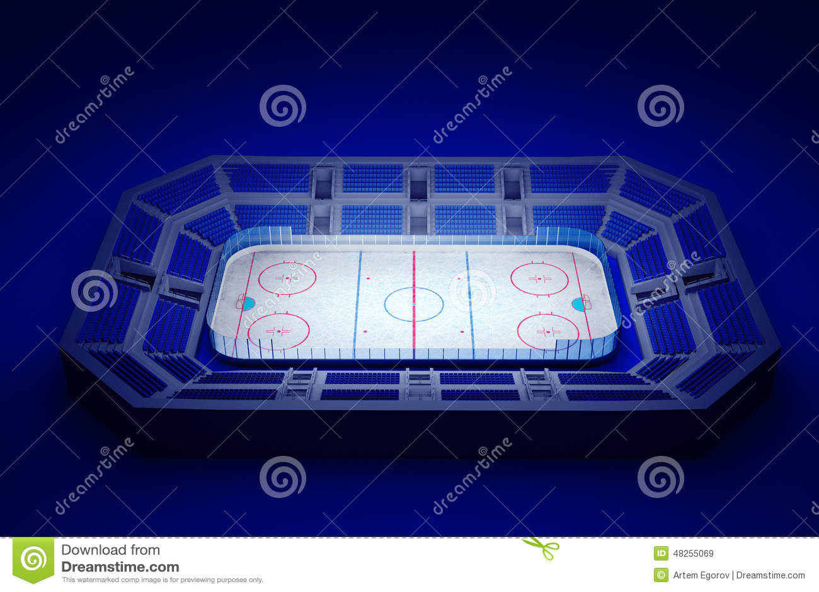Lodowego hokeja arena