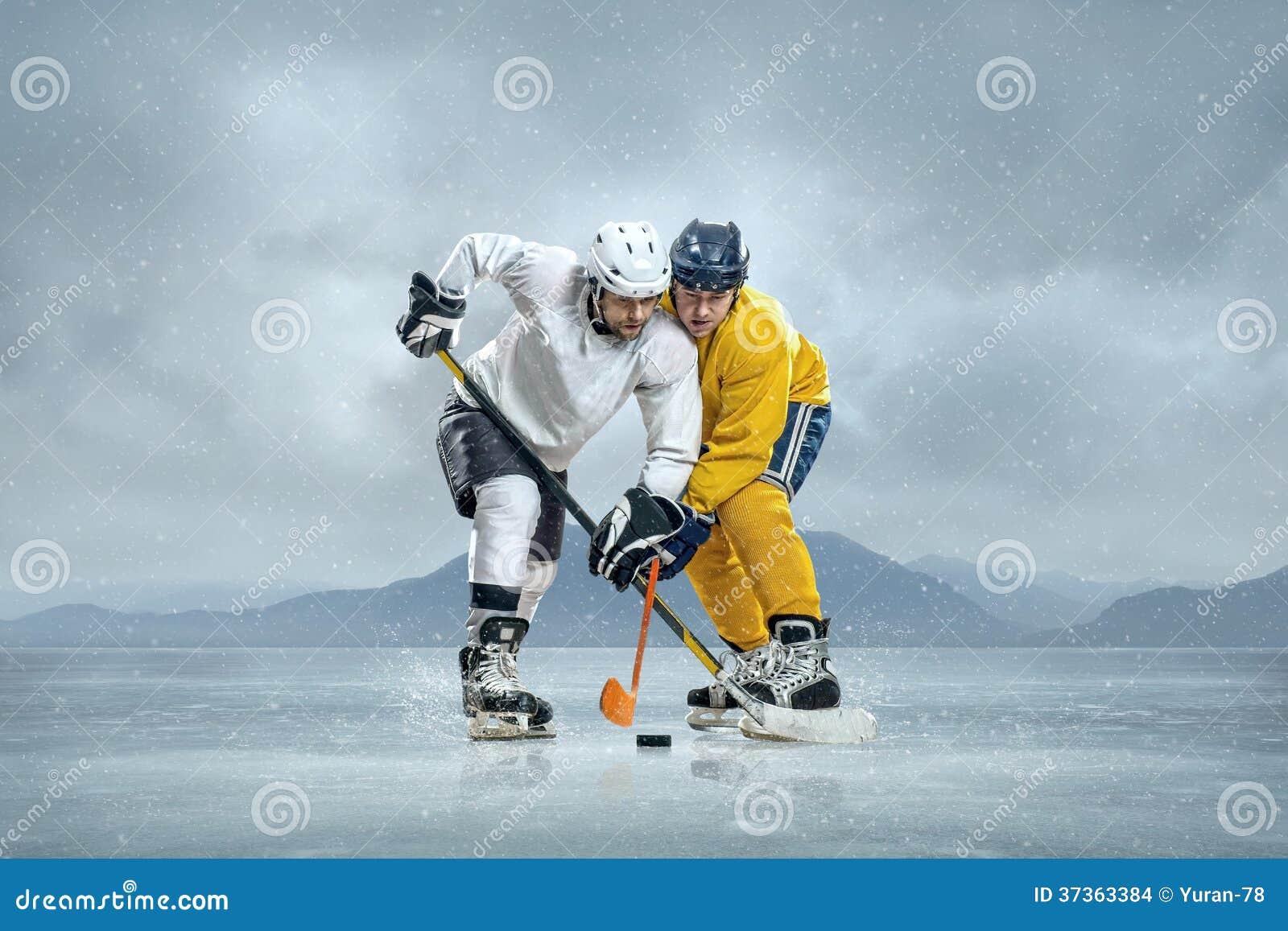 Lodowi gracz w hokeja
