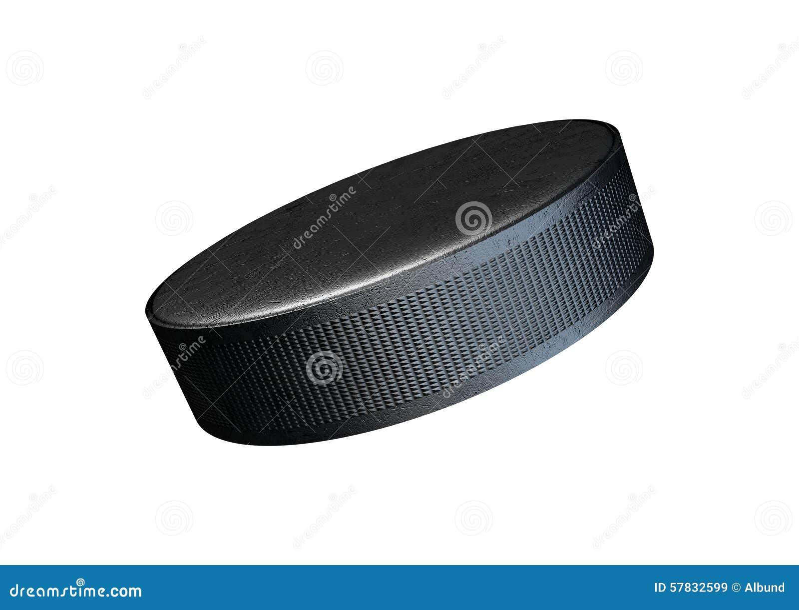 Lodowy hokejowy krążek hokojowy