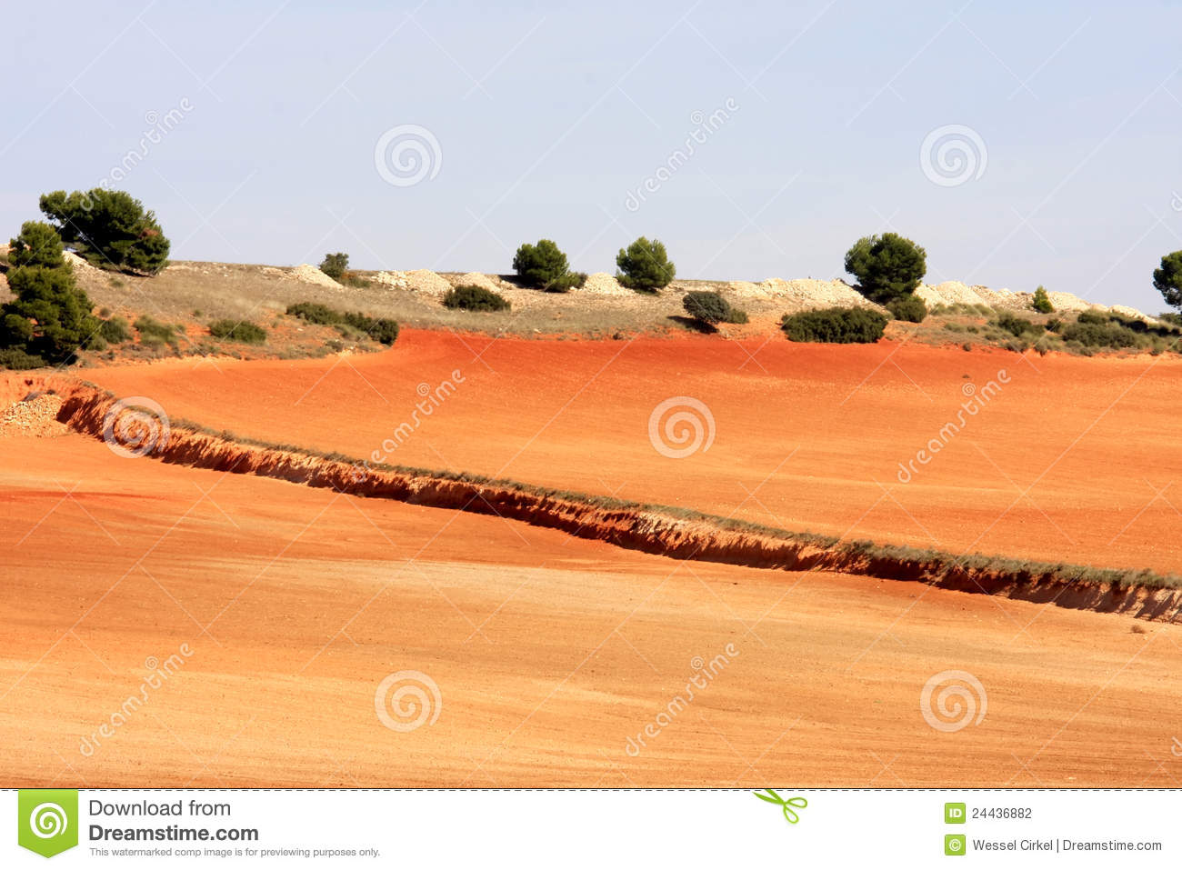 Loess landscape near albacete in spain stock photo image for Nearby landscapers