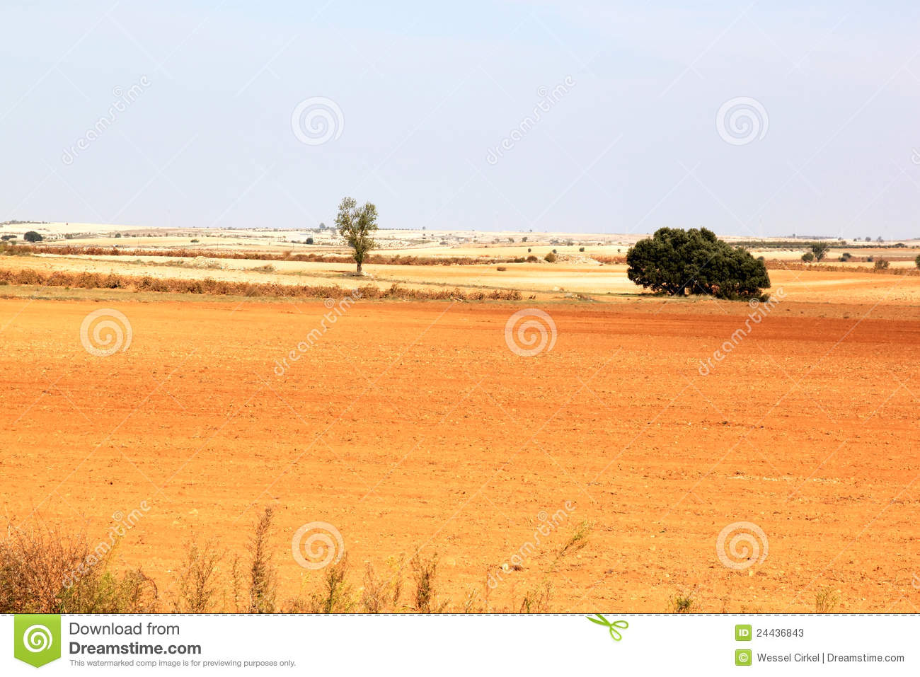 Download Loess Landscape In Spain Near Albacete Stock Image - Image of hill, coloured: 24436843