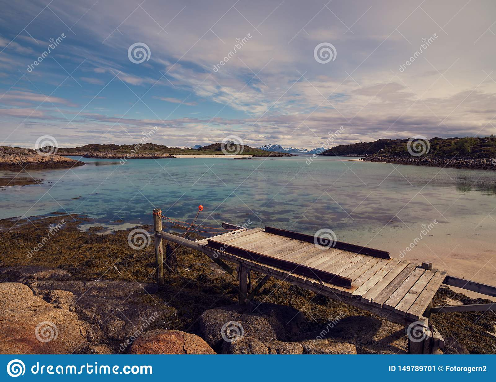 Lofoten к лето в Норвегии