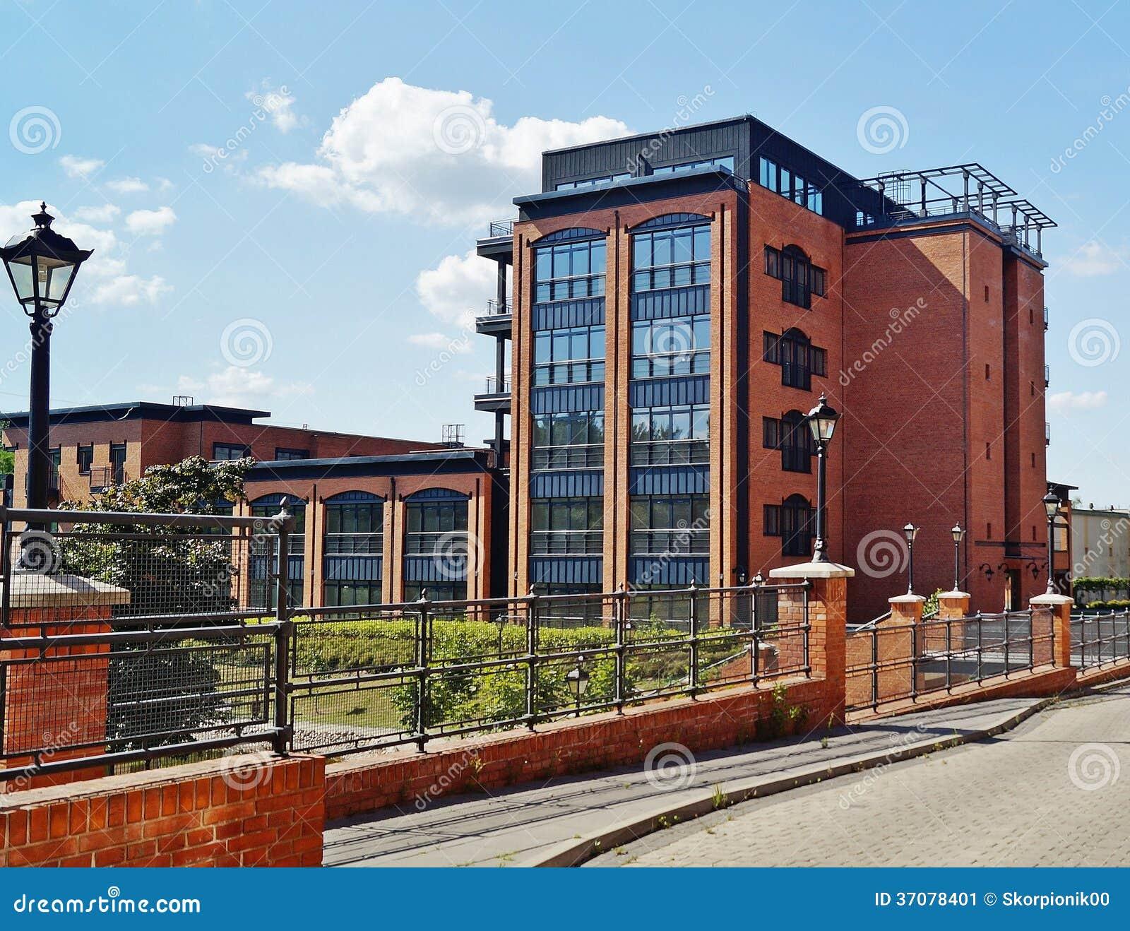 Download Loft Aparts W Łódzkim, Polska Obraz Stock - Obraz złożonej z cegła, budynek: 37078401