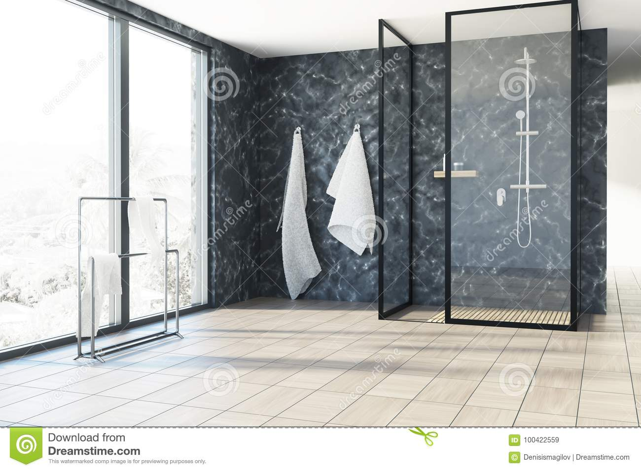 Brilliant Marble Bathroom Shower Stock Illustration Illustration Of Download Free Architecture Designs Lukepmadebymaigaardcom