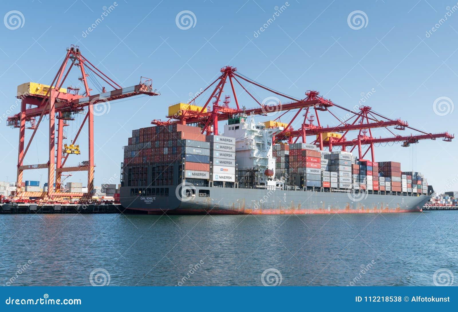 Logística de comércio global, Containership
