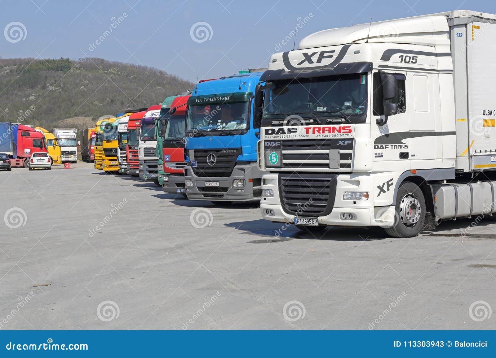 Logística dos caminhões