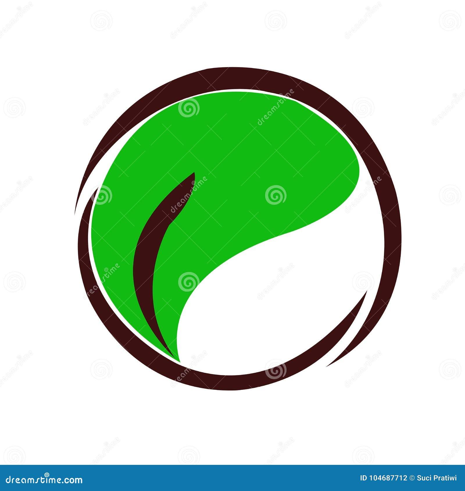 Logów liście i okrąg