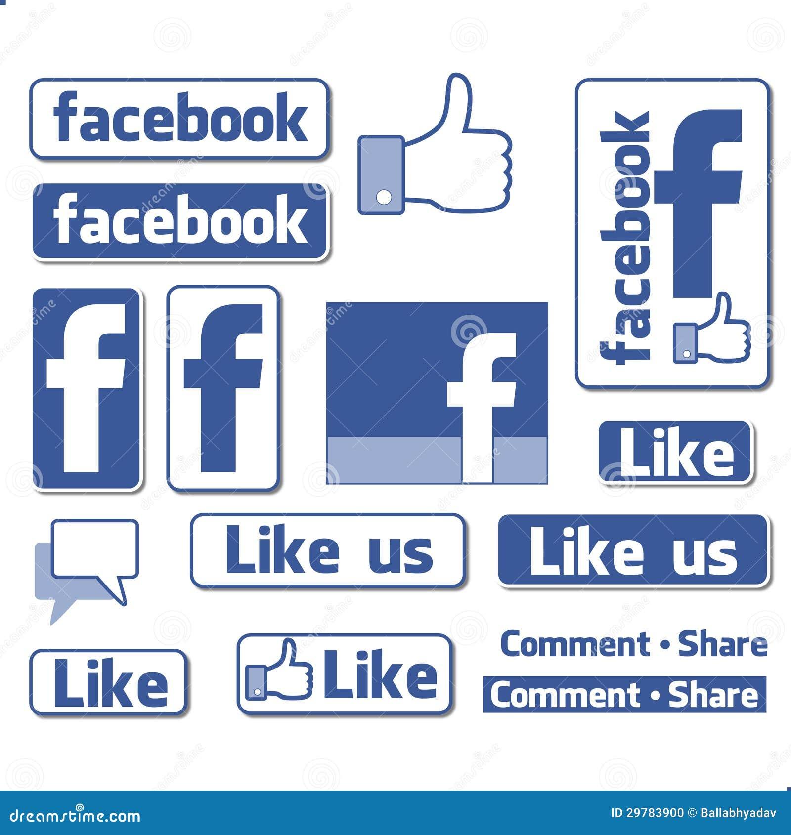 Facebook symbolu logo