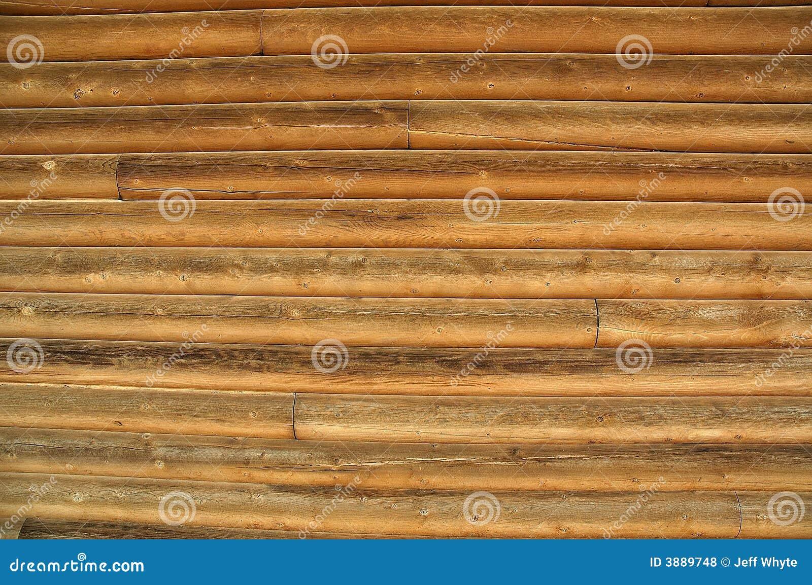 Log building background