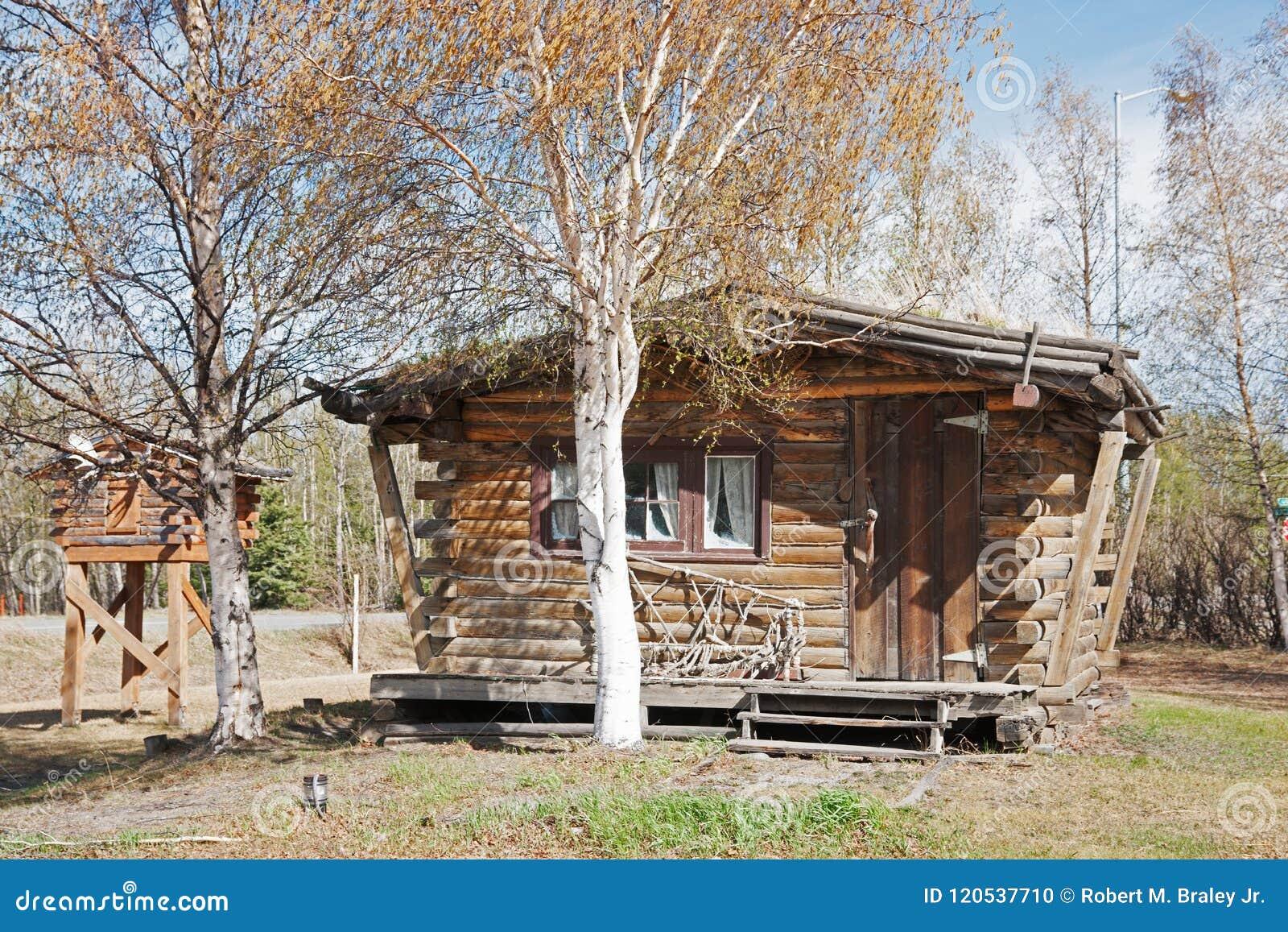 Log Buildings Delta Junction Alaska