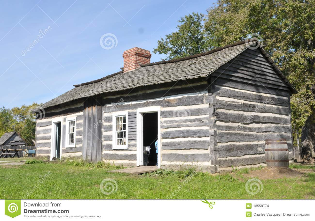 Very Impressive portraiture of lincoln s log cabin he was the father of president abraham lincoln  with #2158AA color and 1300x914 pixels