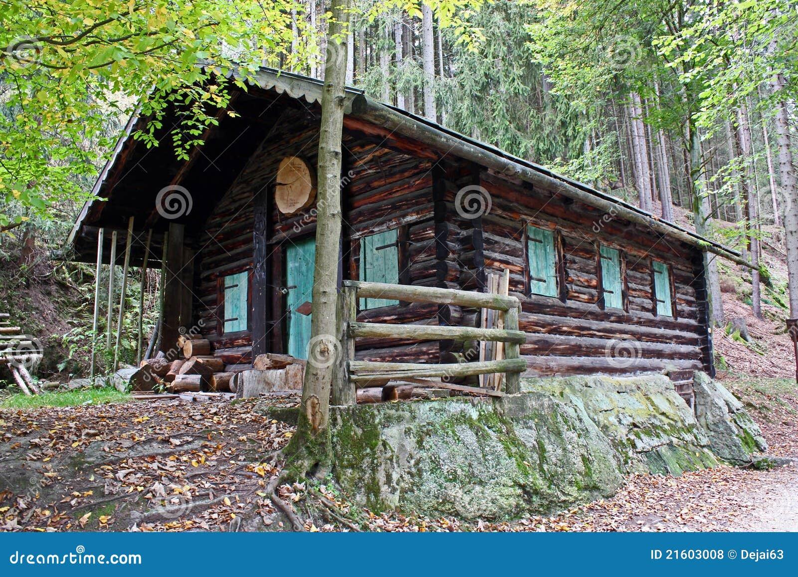 Log Cabin Royalty Free Stock Photos Image 21603008