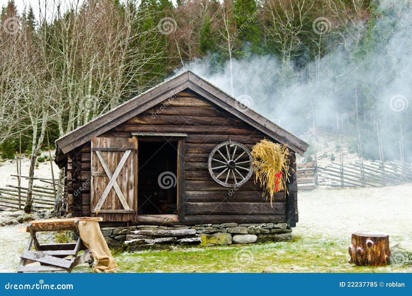 Log Cabin Royalty Free Stock Photo Image 22237785