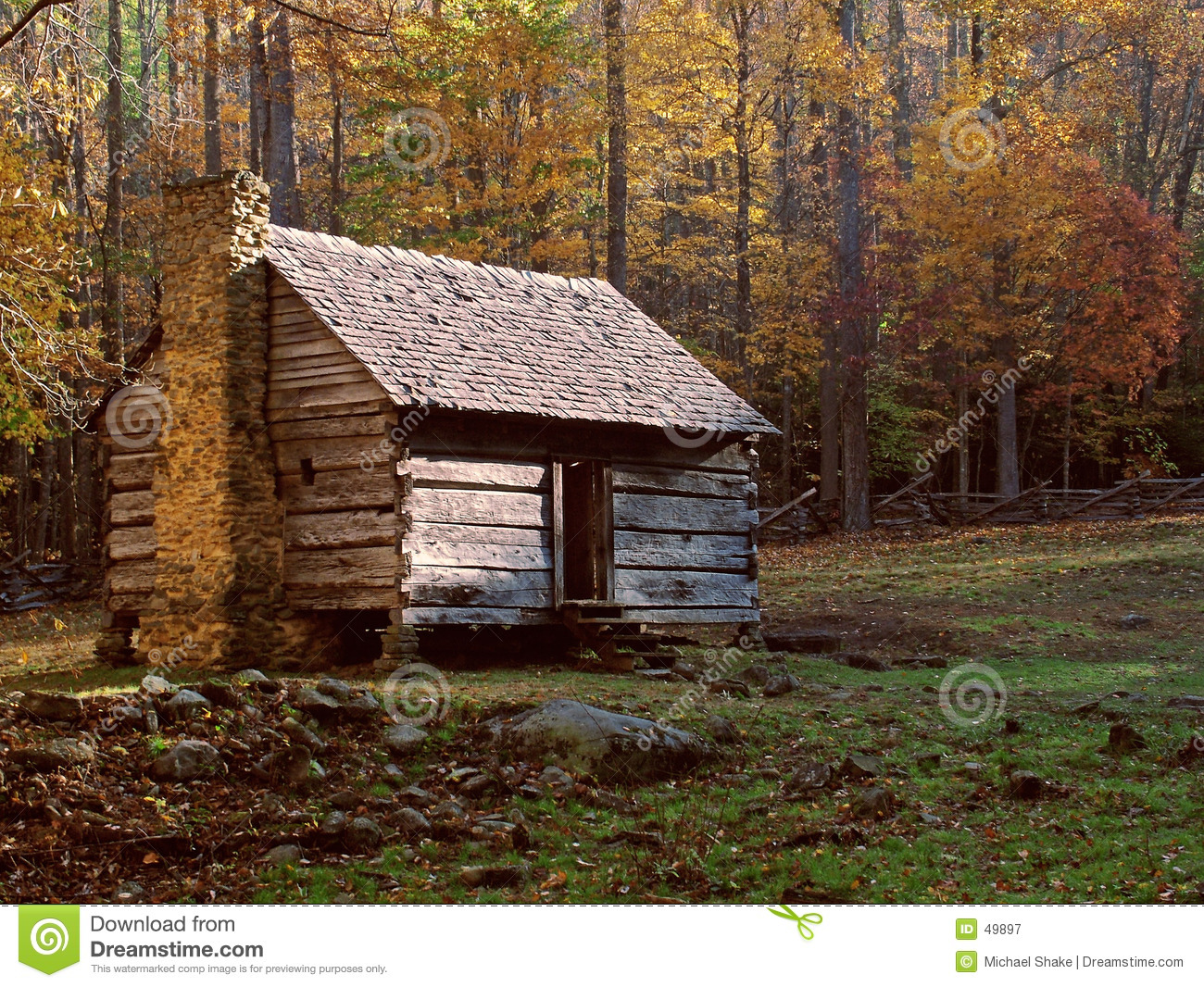 Log cabin royalty free stock photography image 49897