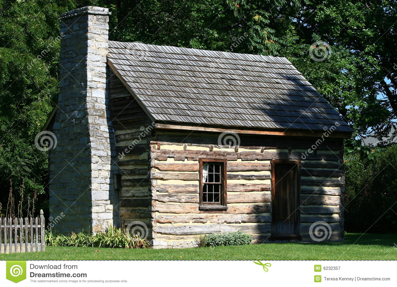 Log cabin royalty free stock image for Free log cabin