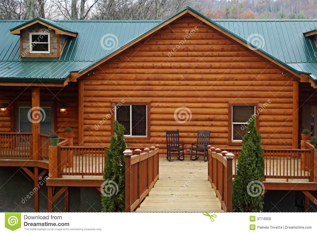 Wonderful image of Log Cabin Home Royalty Free Stock Photos Image: 3774958 with #7C3919 color and 1300x957 pixels