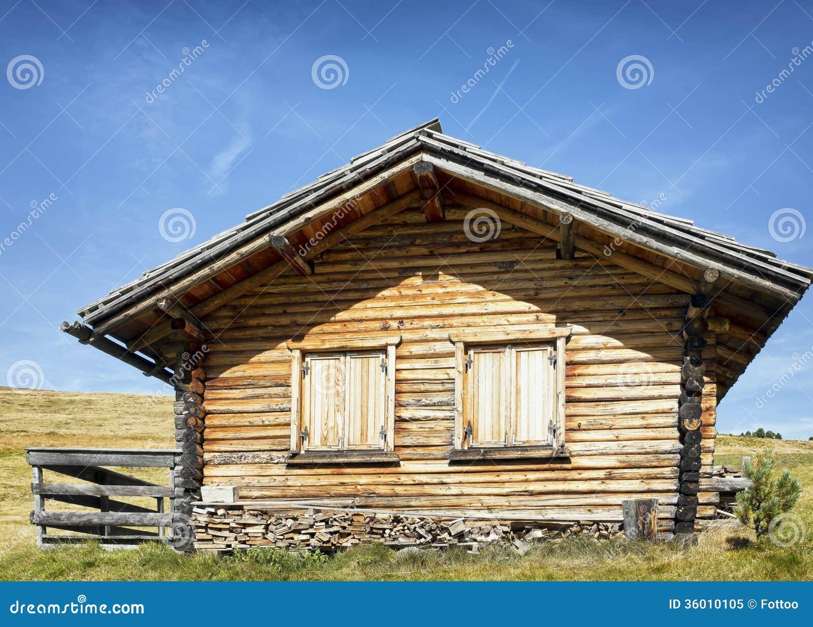 Log Cabin Royalty Free Stock Photo Image 36010105