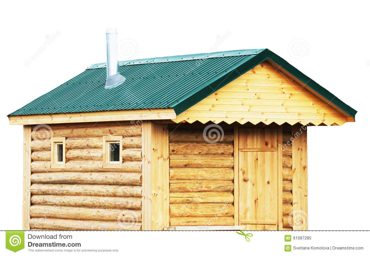 Log Cabin Sauna Exterior Rustic House Or Finnish Saunas