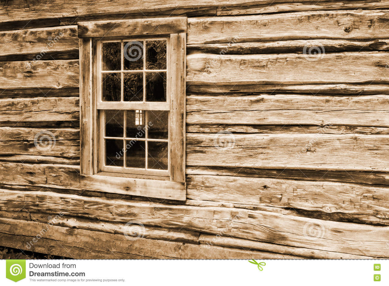Log cabin wall and window stock photo image of backgrounds 70888920 for Log cabin window