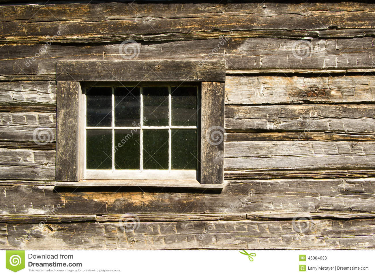 Log cabin window stock image image of history window 46084633 for Log cabin window