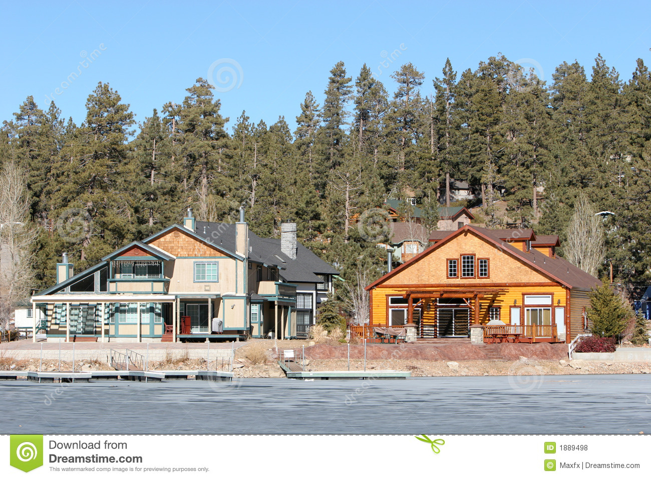 Log cabin on a lake royalty free stock photography image 7866317 - Log Cabins By The Lake Royalty Free Stock Photos Image 1889498 Full Resolution