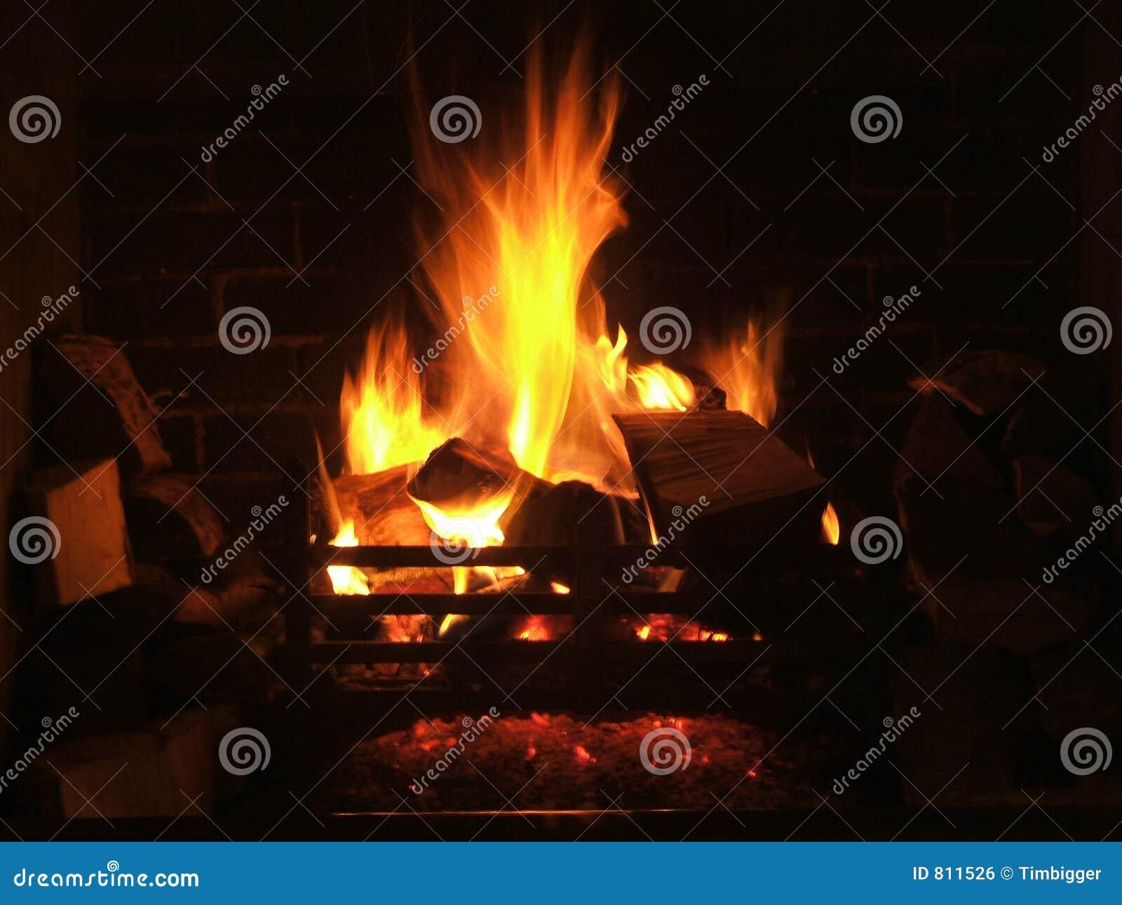 log fire royalty free stock image image 811526