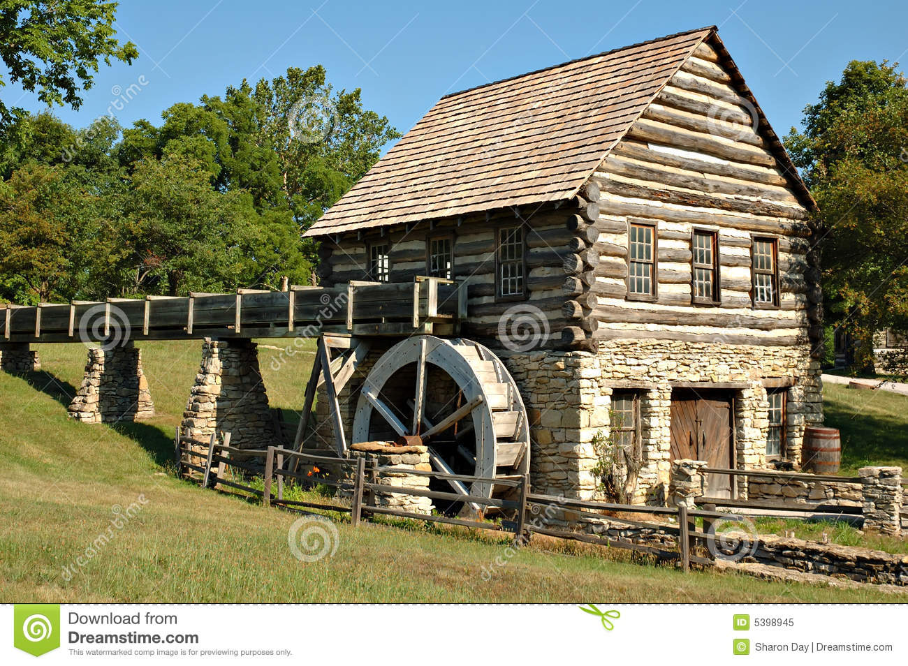 Log mill royalty free stock photo image 5398945 for Mill log