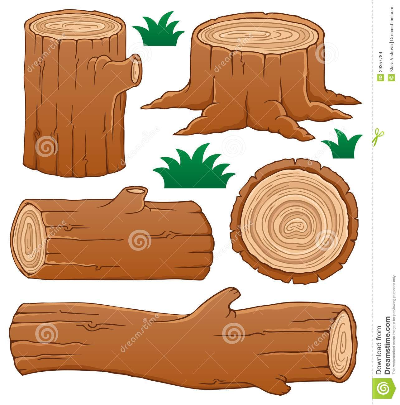 Log theme collection stock images image
